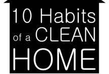 cleaning and organizational tips / by Stephanie Burt
