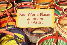 Real-life Inspiration / Real places and people in my real life I visit when I need to recharge my creative well. / by Karen Tiede Art Rugs