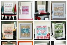 Printables / by Amanda {Serenity Now}