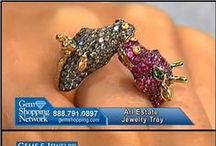 Love Gem Shopping Network  / Gem Shopping sells high end jewelry 7/24 on air (TV) and often has fabulous deals on unusual pieces. They also have a lot of estate jewelry that is hard to find. I am a GSN fan!  / by Susan .