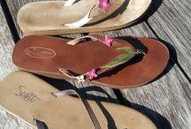 Women's Slippahs! / Stay stylish all year long. / by Scott Hawaii