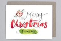 Watercolour for the Holidays / Holiday watercolour inspiration for cards, gift tags, whatever! / by Nikki Stoyko