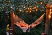 backyard love / It's time to spruce up the space outdoors... ideas... / by Courtney Ponds