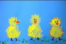 it's easter... / Easter crafts for little ones