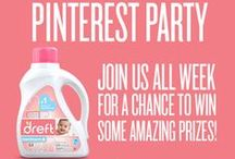 Dreft & Little Me / It's a party! Join Dreft and Little Me for our week long Pinterest party featuring Little Me's Fall 2014 line. Make a board of your favorite fall fashions and submit them on http://www.littleme.com/dreft-little-me-pinterest-party/ during the week of August 18th to win amazingly gentle prizes for you and your little one!