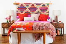 Bedding and Tapestries / Bohemian Bedding colorful bedding