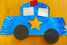 let's go... / transport themed activities for pre school