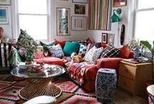 Bohemian / Bohemian Decor, Bohemian clothing, jewelry leaving! Everything Boho Hippie Colorful!