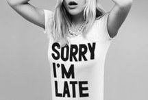 """Sorry I'm Late / This board is dedicated to Print Liberation's - most ripped off T-shirt design - Original Sorry I'm Late Graphic Screen Printed T-Shirt Design: We're not egomaniacs, but we are proud that we - Print Liberation - we came up with the """"Sorry I'm Late"""" T-shirt. Though If you look closely, there's one major detail they can't steal: Print Liberation's handmade & trademarked typeface named BoldFace OddFace!"""