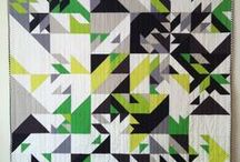Stitchery / Quilts / Mostly modern geometric quilts