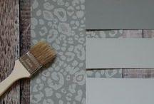 Paint & Wallpaper Scheme / Paint and wallpaper design schemes.