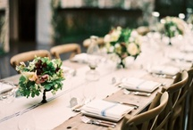 the tablescape / by Hidden Courtyard
