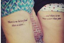 I <3 tattoos!!!  / by Tamara Rousseau