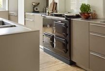 Aga kitchens / bulthaup by kitchen architecture integrate the iconic Aga cookers creating a contemporary classic kitchen.