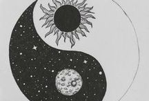 1 + 1 / yin-yang and sun-moon