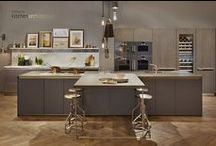 100% Design 2014 / Kitchen Architecture's mixing of vintage with contemporary created huge interest on their bulthaup stand at 100% design this year.