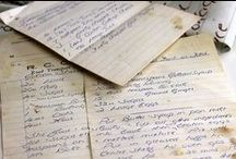Handwritten and Vintage Recipes / Handwritten and vintage recipes can be like a golden ticket. What secrets and history does it hold? Passed down through generations, creating fond memories with family and friends. Found all over the world // international recipes authentic, international recipes easy, world recipes, world cuisine, food photography, food pics, food porn, food styling, handwritten recipes, handwritten recipes vintage, handwritten recipes authentic, authentic vintage recipes, handwritten recipes grandmother