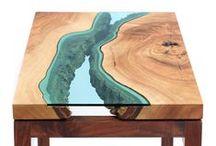 Эксклюзивные столы Бигвуд / Эксклюзивные и дизайнерские столы производства Бигвуд