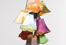 Lamp shade cluster