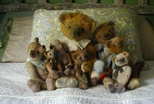 TEDDY BEARS / EVERY CHILD STARTS OUT WITH A FAVOURITE TEDDY BEAR, SOME WE EVEN KEEP AS ADULTS, HERE ARE SOME OLD AND NEW STYLES OF TEDDY BEARS... I STILL HAVE MINE AND MY CHILDRENS FIRST TEDDY. / by Sheri Asselin