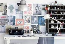 WORK & Organization / workbench, work space, home office, organization