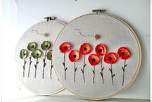 HANDMADE / Embroidery, Knitting, Crocheting