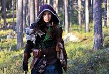 Elven insperations / some are me in my woodelf costume.
