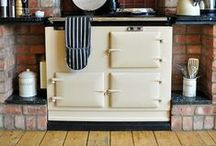AGA cooking / Luxusne retro sporáky