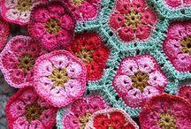 2. Ideeën granny's haken| Ideas crochet granny's