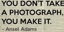 I ❤️ PHOTOGRAPHY / I love cool cameras, vintage cameras, fun camera-related stuff. Awesomeness. Makes my heart go pitter-patter.