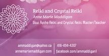 My Products and Services / Reiki and Crystal Reiki Master and Teacher