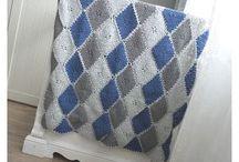 Ideeën dekentjes haken| Crocheting blanket's Ideas