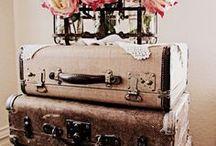 Tiempo de maletas / Objetos de viaje vintage