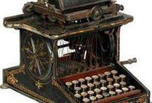Máquinas de escribir / Máquinas de escribir