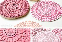 Hand made stamps