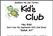 Kids Club / SeaMore the Sea Turtle's Kid's Club hosts a FREE monthly activity each month for children ages 2-12.  Only at Inlet Square Mall! Find out about our monthly activity as well as other ideas you can do at home with your kids.