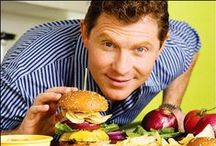 Bobby Flay Recipes / Bobby Flay is a Food Network Star Chef - best known for Iron Chef and Showdown. He is a BBQ/Grilling and Southwestern Food Expert and owns restaurants in NYC, Las Vegas and several other cities.  He has published 12 cookbooks mostly about BBQ/Grilling, Burgers and Traditional American Food.
