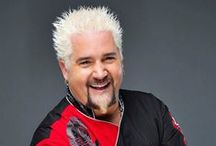 Guy Fieri Recipes / Guy Fieri burst on the Celebrity Chef scene by winning the second season of Next Food Network Star.  He is best known as the host of Diners, Drive-Ins and Dives and Guy's Big Bite. He co-owns five restaurants in California and has authored 3 cookbooks.