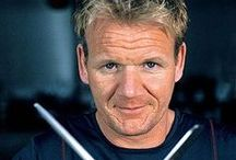 Gordon Ramsay Recipes / Gordon Ramsay is a Scottish chef, restaurateur and television personality.  You know him from...well, everywhere!  In particular he is the host of Kitchen Nightmares, Hell's Kitchen and The F Word and co-host of Master Chef. His company, Gordon Ramsay Holdings Limited, owns dozens of restaurants around the world.  Ramsay has written 21 books. He has been awarded 15 Michelin stars in total and currently holds 12. In January 2013, Ramsay was inducted into the Culinary Hall of Fame