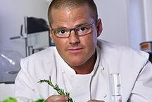 Heston Blumenthal Recipes / Heston Blumenthal is an English celebrity chef and owner of The Fat Duck, a three-Michelin-starred restaurant in Bray, Berkshire, which has been voted Best Restaurant in the UK and received a perfect score of 10/10 every year since 2007 by The Good Food Guide. He has also written many cook books as well as doing televised cooking programs.