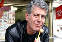 Anthony Bourdain Recipes / Anthony Bourdain is an American chef, author and television personality. He is known for his 2000 book Kitchen Confidential: Adventures in the Culinary Underbelly, is the host of the Travel Channel's Anthony Bourdain: No Reservations and The Layover. Has run several high-end restaurant kitchens in New York City – including the Supper Club, One Fifth Avenue, and Sullivan's – and was the executive chef at Brasserie Les Halles.