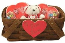 Valentines Baskets / Beautiful Valentines Baskets, the perfect gift for your loved one this Valentines Day / by Peterboro Basket Company