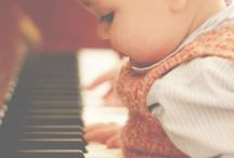musical inspiration / Music is what feelings sound like.