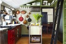 Small Spaces / Tips and tricks for both decorating and utilizing even the smallest of spaces in your home.
