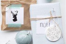 WRAPPING / Cadeautjes op een leuke manier inpakken. Leuk om te geven en te krijgen!
