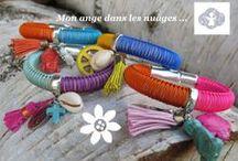 Mon ange dans les nuages / Bijoux fait main made in France