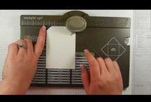 WeR: Envelope Punch Board / Sobres fets amb la Envelope Punch Board de We Are Memory Keepers