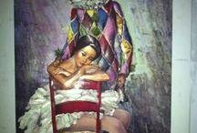 3 boyutlu kaatı sanatı / el emeği ile yapılan boyutlu resimler