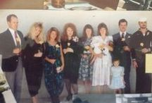 My family / Large family as a child to more intimate family now. / by Johneen Beckworth