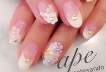 French manicure / Pomysły na nietuzinkowy manicure francuski